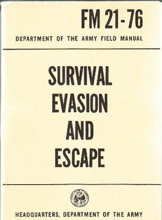 Survival Military Manuals