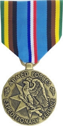 Armed Forces Expeditionary Full Size Medals