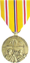 Asiatic Pacific Campaign Full Size Medals