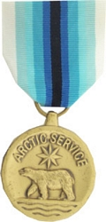 Coast Guard Arctic Service Full Size Medals