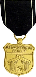 Coast Guard Expert Pistol Full Size Medals