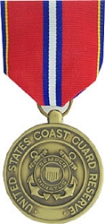 US Coast Guard Reserve Good Conduct Full Size Medals