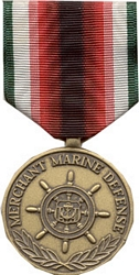 Defense Merchant Marine Full Size Medals