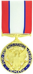 Distinguished Service Medal, Army Full Size Medals