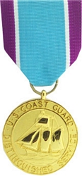 Distinguished Service Medal, US Coast Guard Full Size Medals