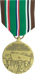 Europe, Africa, Middle East Campaign Full Size Medals