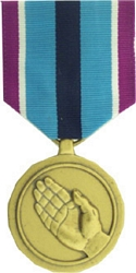 Humanitarian Service Full Size Medals
