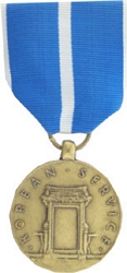 Korean Service Full Size Medals