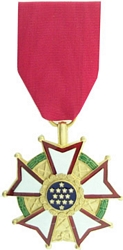 Legion of Merit, Legionnaire Full Size Medals