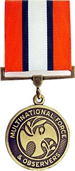 UN Multinational Force and Observsers Full Size Medals
