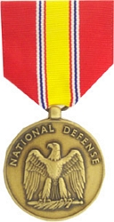 National Defense Service Full Size Medals