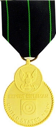 Navy Expert Rifle Full Size Medals
