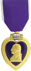 Purple Heart Full Size Medals