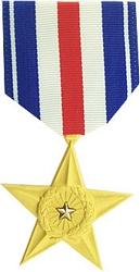 Silver Star Full Size Medals