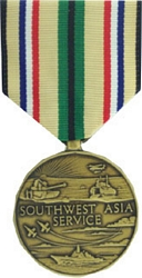 Southwest Asia Service Full Size Medals