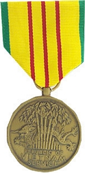 Vietnam Service Full Size Medals