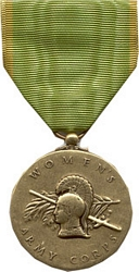 Women's Army Corps Full Size Medals