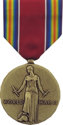 World War II Victory Full Size Medals