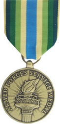 Armed Forces Service Medal Full Size Medals