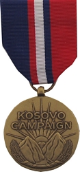 Kosovo Campaign Full Size Medals
