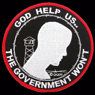 God Help Us The Government Won't Patches