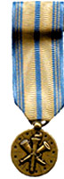 Armed Forces Reserve, National Guard Mini Medals