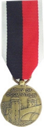 Army Of Occupation WW II Mini Medals