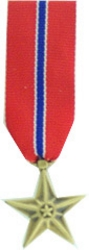 Bronze Star Mini Medals
