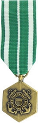 Coast Guard Commendation Medal Mini Medals
