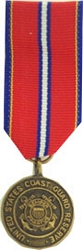 US Coast Guard Reserve Good Conduct Mini Medals