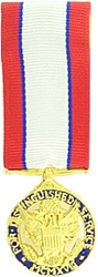 Distinguished Service Medal, Army Mini Medals