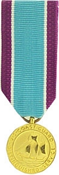 Distinguished Service Medal, US Coast Guard Mini Medals