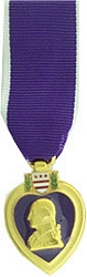 Purple Heart Mini Medals