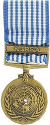 United Nations Service, Korea Mini Medals