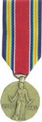 World War II Victory Mini Medals