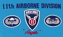 11th Airborne Flags