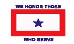 We Honor Those Who Serve Flags