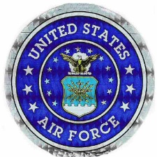 Holographic Military Decals US Air Force