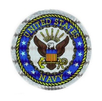 Holographic Military Decals US Navy