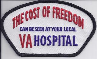 Cost of Freedom Seen At VA Patches