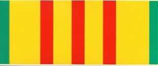 Vietnam Service Ribbon Bumper/Window Stickers (A)