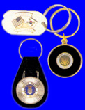 Dog Tag Key Rings