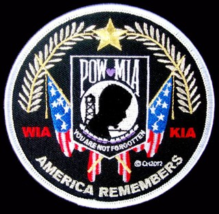 America Remembers Patches