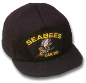 Seabees Military Ball Caps