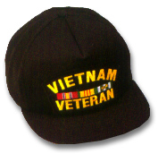 Vietnam Veteran Military Ball Caps