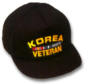 Korea Veteran Military Ball Caps