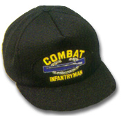 Combat Infantryman Military Ball Caps