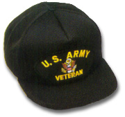 US Army Veteran Military Ball Caps