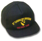 1st Cavalry Division Military Ball Caps