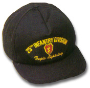 25th Infantry Division Military Ball Caps